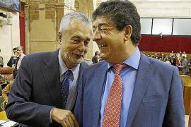 Griñán, investido presidente de la Junta de Andalucía con los votos del PSOE e IU