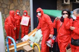 Protesta en Pere Garau por la degradación ambiental del barrio