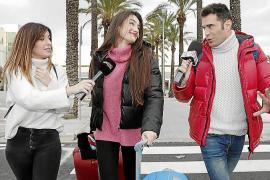 Adara Molinero en Mallorca.