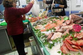 El Mercat Nou es uno de los puntos elegidos para las compras navideñas