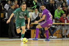 El Palma Futsal frena en seco en la pista de Osasuna Magna