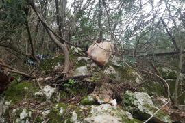 Investigan rituales satánicos con animales muertos en una finca de Santa Eugènia