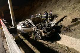 Un brutal accidente se cobra la vida de tres jóvenes en Madrid