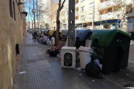basura en Palma