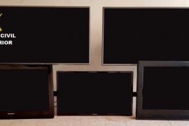 Investigadas 4 personas por el robo de televisiones en hoteles de Alcúdia