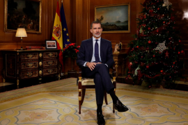 El mensaje navideño del rey tuvo una cuota de audiencia del 71,3% en Baleares