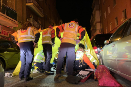 La Policía investiga el apuñalamiento de un joven en Vallecas