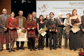 Entrega de premios del Certamen Literario y Musical Rafael Nadal en el Ágora