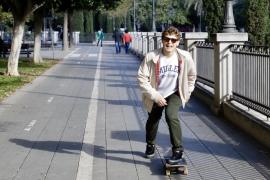 El sueño olímpico del 'skater' Jaime Mateu