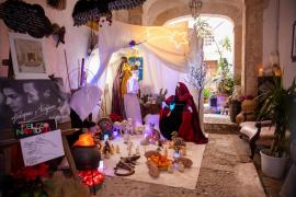 El tradicional belén de Traspas y Torijano, en imágenes (Fotos: Toni P.).