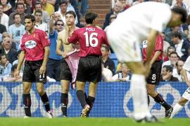El Mallorca ha ganado en cinco ocasiones en el Bernabéu, cuatro en Liga y una en Copa