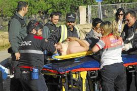 Un ciclista herido grave en Andratx
