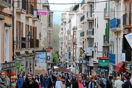 Menos de la mitad de los residentes en Palma, un 43 %, ha nacido en la ciudad