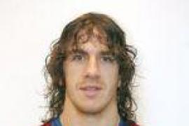 Carles Puyol, seis semanas de baja, no jugará la final de Copa