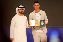 Ronaldo, Klopp y el Liverpool reinan en los Globe Soccer Awards