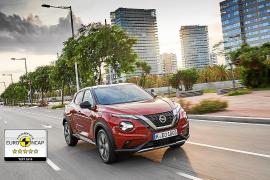 El Nissan JUKE consigue las cinco estrellas de EuroNCAP