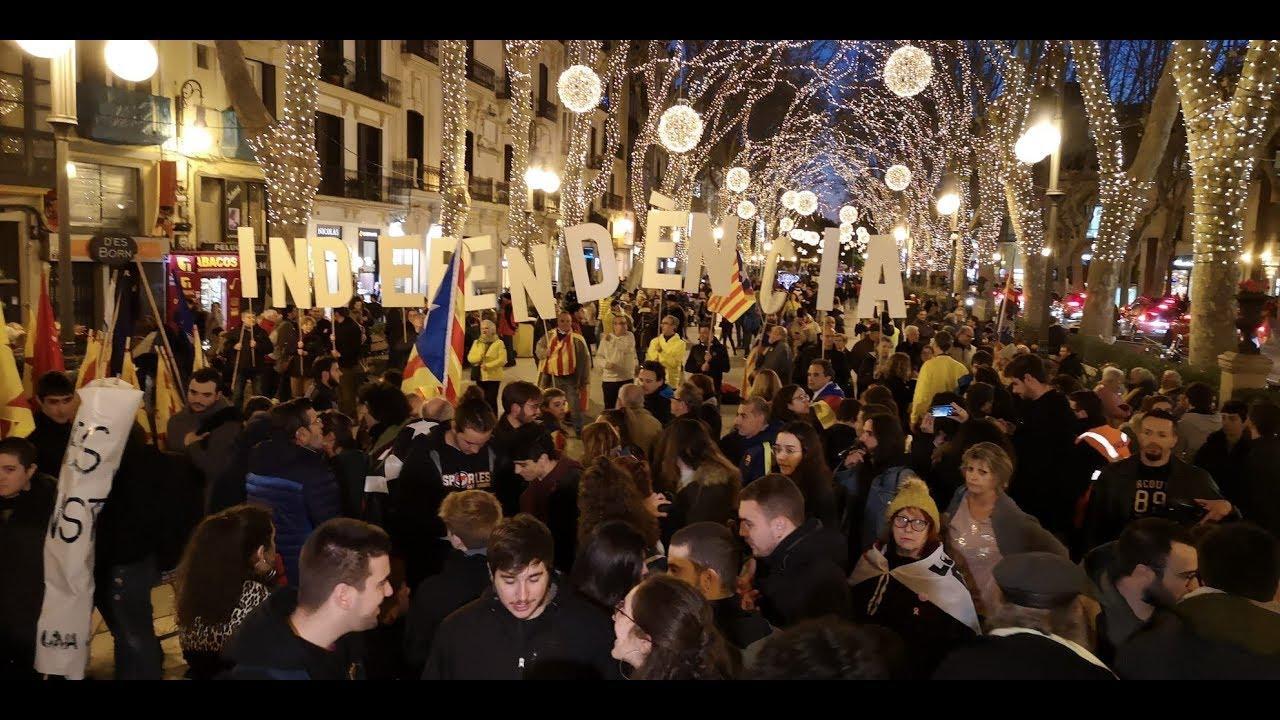El soberanismo mallorquín sale a la calle con la vista puesta en Cataluña