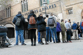 Visitantes nacionales y extranjeros eligen Mallorca para disfrutar de la última noche de 2019