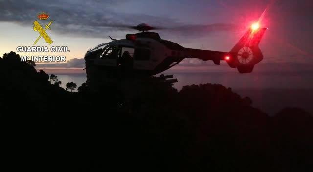 La Guardia Civil rescata a una senderista en Sóller