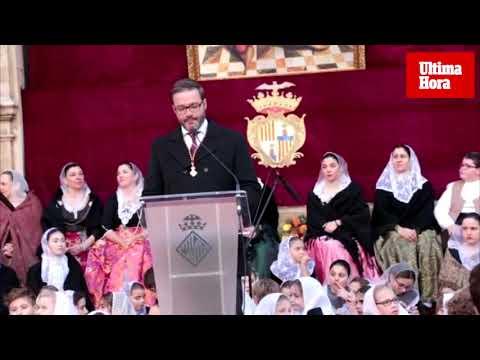 Hila reclama «civismo» a los ciudadanos e inversiones al Govern en el último discurso del año
