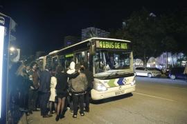 Los autobuses del Bus de Nit del Marítimo sólo tendrán dos personas de seguridad