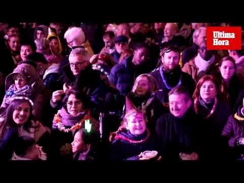 Palma recibe al 2020 con una fiesta a lo grande