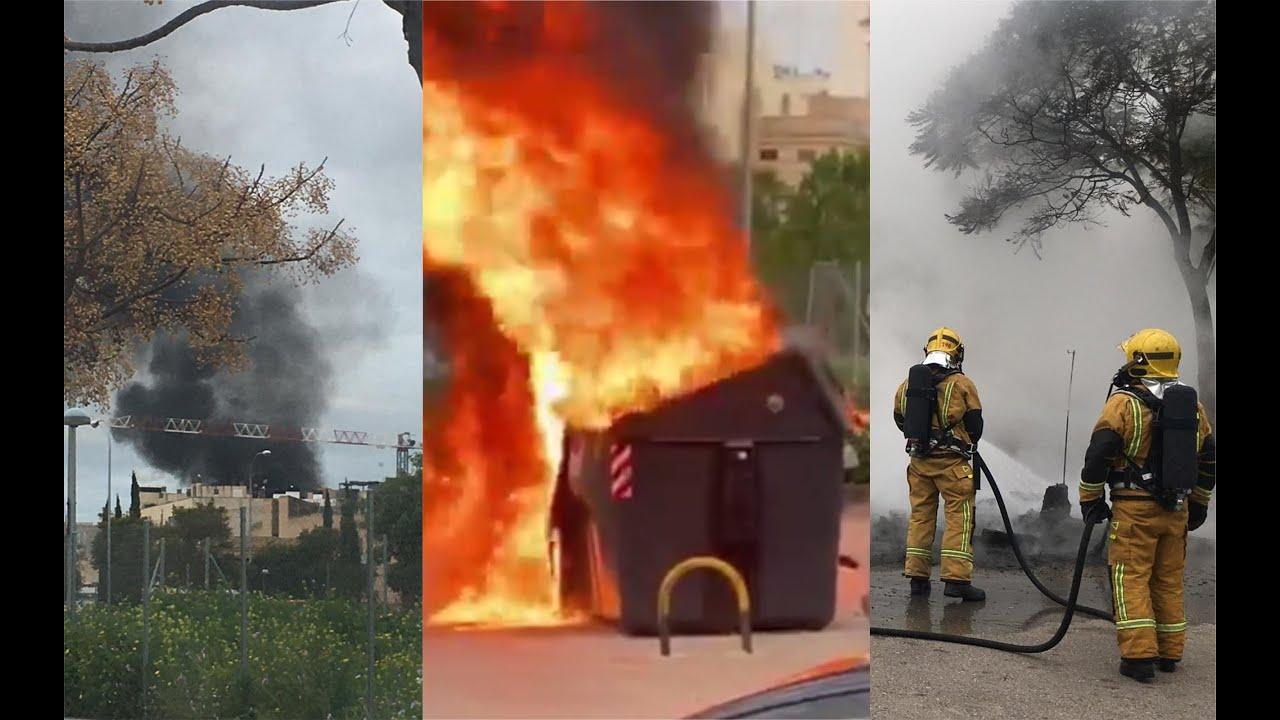 Alarma en Palma por un incendio