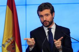 Casado dice que Torra debe cesar inmediatamente como presidente de la Generalitat