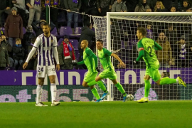 El Mallorca 'respira' con el empate en Zorrilla