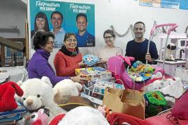 El PP de Formentera ha recogido cerca de 400 regalos para 21 niños de familias sin recursos de la isla