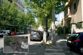 Cort iniciará el martes la renovación de las aceras de la avenida Gaspar Bennàssar