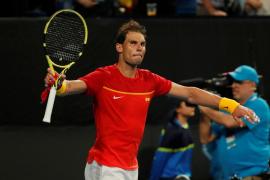 Nadal pone el 2-0 para España ante Georgia en la ATP Cup