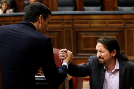Iglesias elogia a los presos y huidos del procés