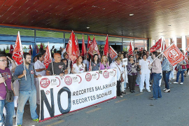 Los sindicatos anuncian conflicto permanente si no se paralizan los recortes