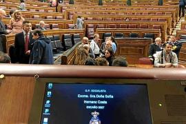 Sofía Hernanz: «Hay unidad absoluta en el voto del PSOE; la derecha de este país añora el 'tamayazo'»