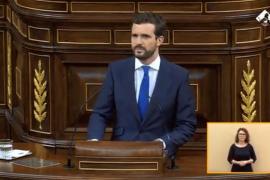 Casado llama 'ultra' a Sánchez y le advierte de que puede romper España