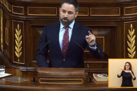 Abascal dice que el gobierno de Sánchez cuenta con el beneplácito de ETA
