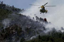 Dos incendios forestales queman 3,2 hectáreas en La Vileta