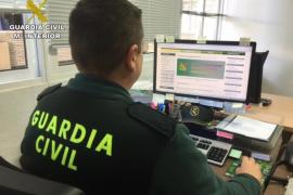 Investigan a un hombre en Palma que hacía cargos vía internet en las cuentas de dos vecinos de Burgos