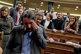 Tercera jornada de la sesión de investidura de Pedro Sánchez