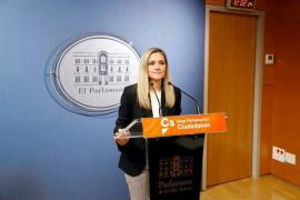 Guasp (Cs) lamenta que Sánchez «se siente muy cómodo» con la «polarización» del Congreso