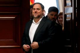 Junqueras, elegido presidente de la Alianza Libre Europea en la Eurocámara