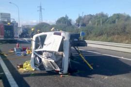 Accidente mortal en la autopista de Inca