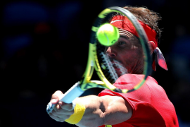 Nadal sufre ante Nishioka para meter a España en los cuartos de final de la Copa ATP