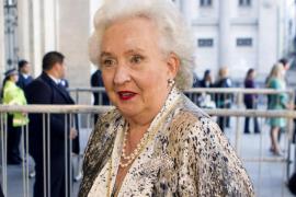 Fallece la infanta Pilar de Borbón