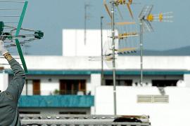 Miles de edificios de Mallorca, Ibiza y Formentera tienen que adaptar sus antenas para ver todos los canales de TV