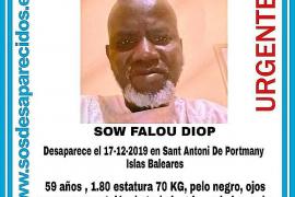 Tres semanas sin noticias del hombre senegalés desaparecido en Sant Antoni