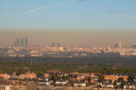 Madrid activa el protocolo anticontaminación ante los altos niveles de dióxido de nitrógeno