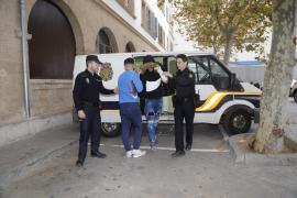 En libertad el único detenido mayor de edad implicado en la violación grupal en Palma