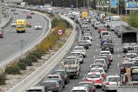 El Consell de Mallorca quiere bajar a 80 la velocidad máxima en toda la vía de cintura